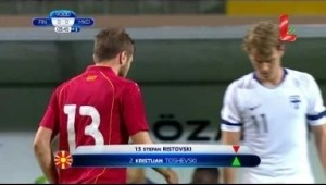 Video: Finland 0 - 0 FYR Macedonia (23.03.2018 // by LTV)